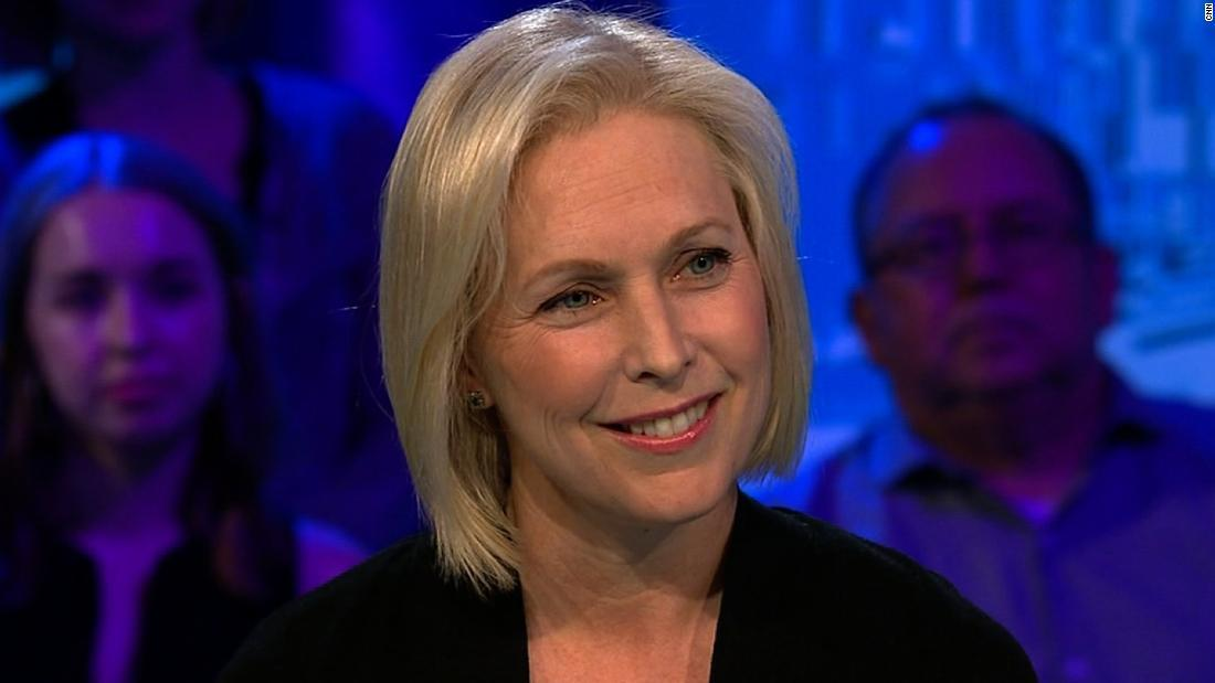 """Democratic Sen. Kirsten Gillibrand says she is """"definitely thinking"""" about running for president in 2020 and will announce a decision in the near future https://cnn.it/2LhAbZH"""
