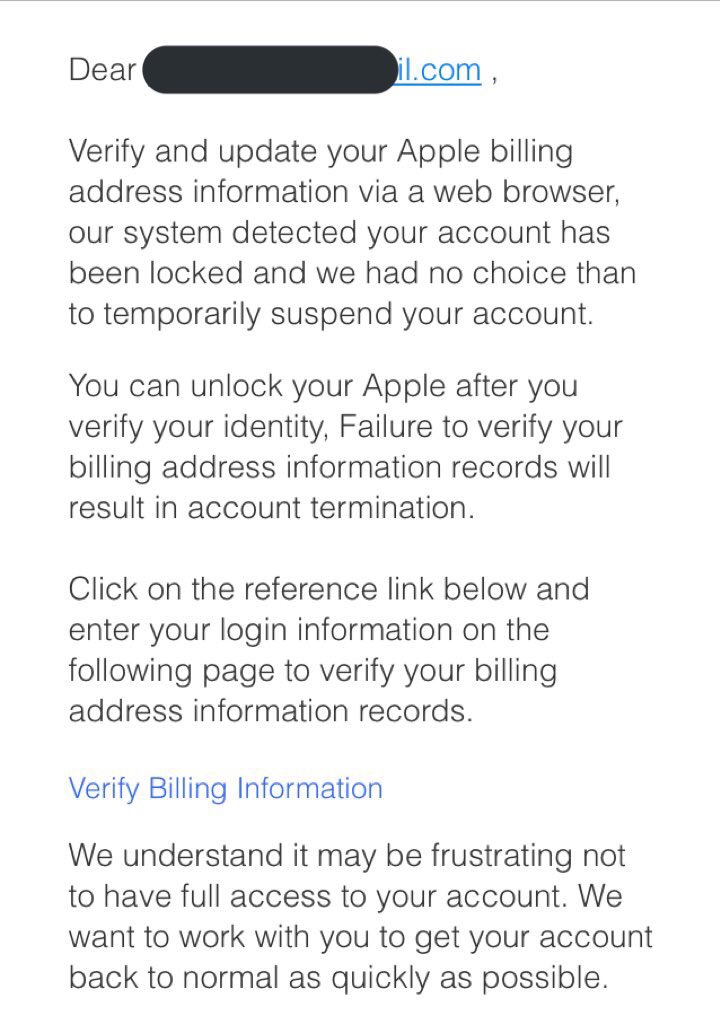your apple id has been temporarily locked คือ