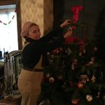 Image for the Tweet beginning: Feeling festive at our 1940s