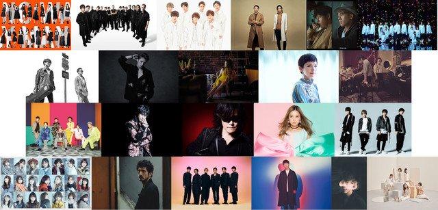 TBS「クリスマス音楽祭」にEXILE、DA PUMP、欅坂、セカオワ、V6、星野源ら https://t.co/fcguDkyJII