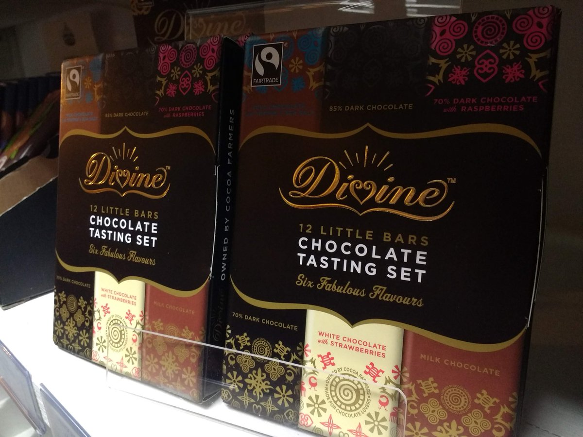 test Twitter Media - These @divinechocolate tasting sets are flying off our shelves today! https://t.co/Hh33X9SFok