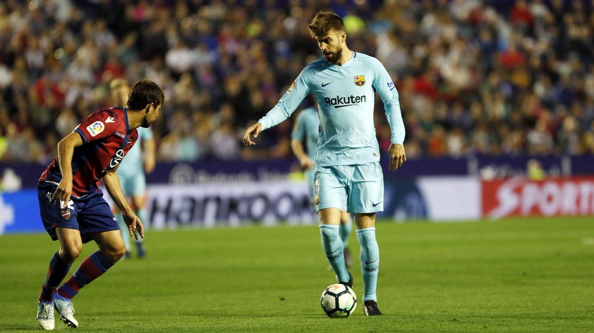 """🔊 Ernesto Valverde: """"Levante are getting good results, with a quick counterattack, and they are good at getting deep."""" #LevanteBarça"""