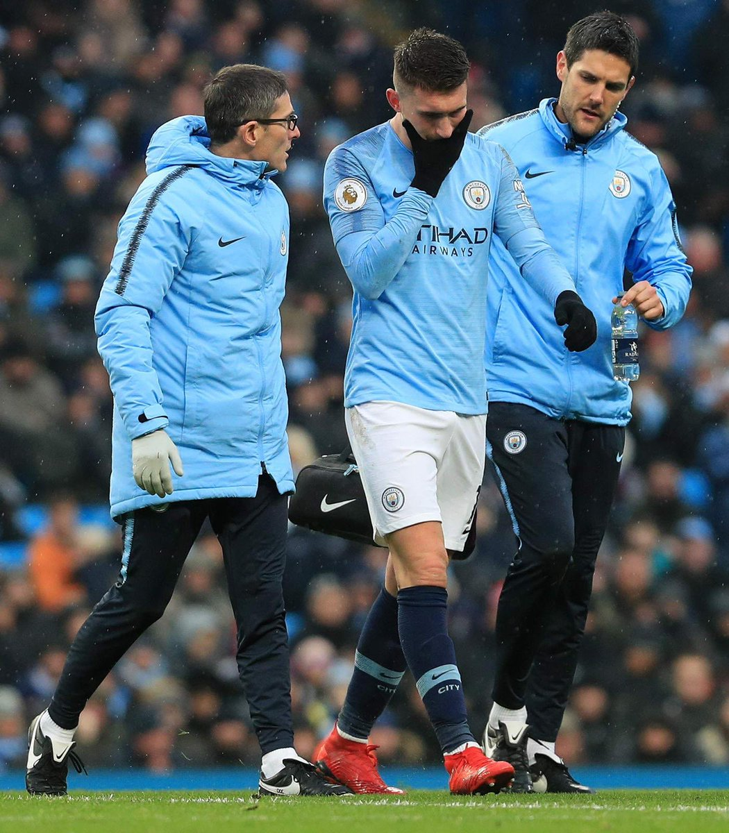 RT @Laporte: All is okey! Thank you so much for all the messages. Well done team! +3💪🏼🦈 #AL14 @ManCity https://t.co/I0X9Wvv5BT