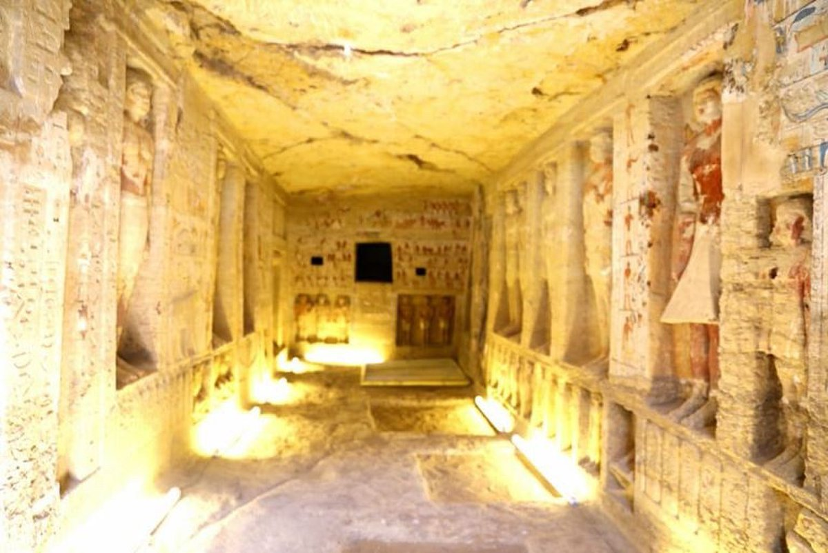 Egypt unveils 'one of a kind' 4,400-year-old tomb, expect more finds
