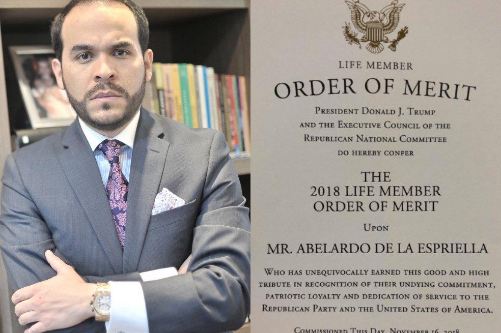 675 dólares pago De la Espriella por diploma firmado por Trump. https://t.co/ooggiMadS8