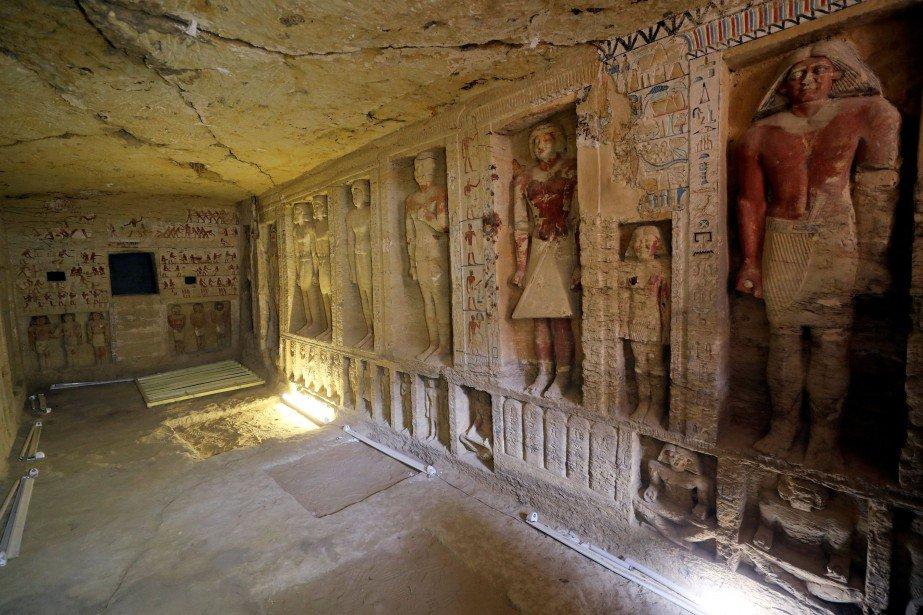 Égypte: découverte d'une tombe vieille de plus de 4400 ans https://t.co/JXZG4Jwly0