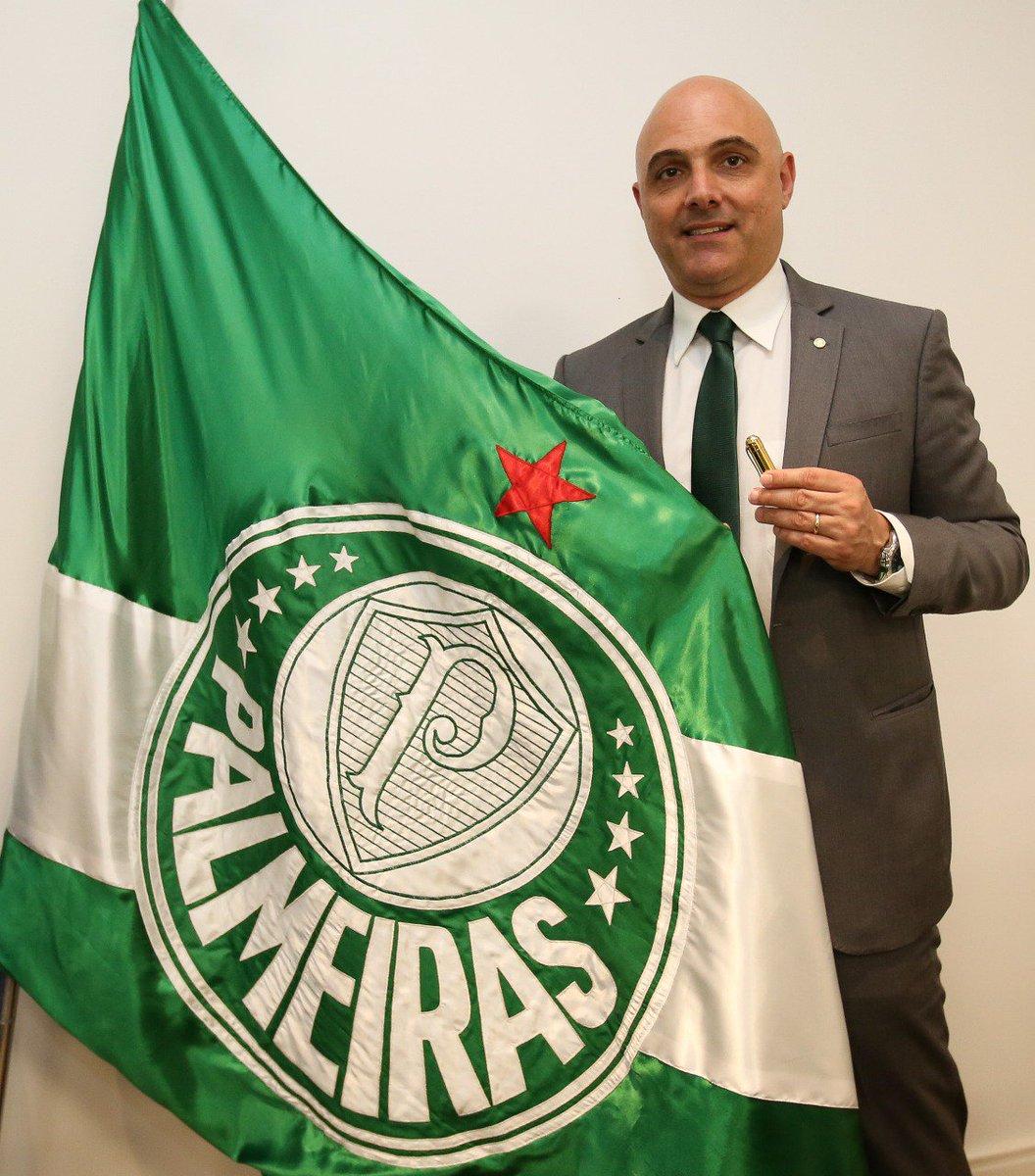 Maurício Galiotte inicia segundo mandato na presidência do Palmeiras ➤  https   t. 3ed43cd3d6995