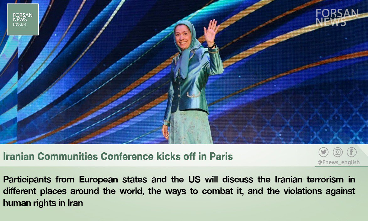 RT @Fnews_english: #Iranian Communities Conference kicks off in #Paris . #Tehran #Iran #France #Forsan_News https://t.co/9NWcdaL6DO