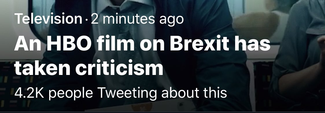 "A minute ago, this said ""some people are angry about—"""