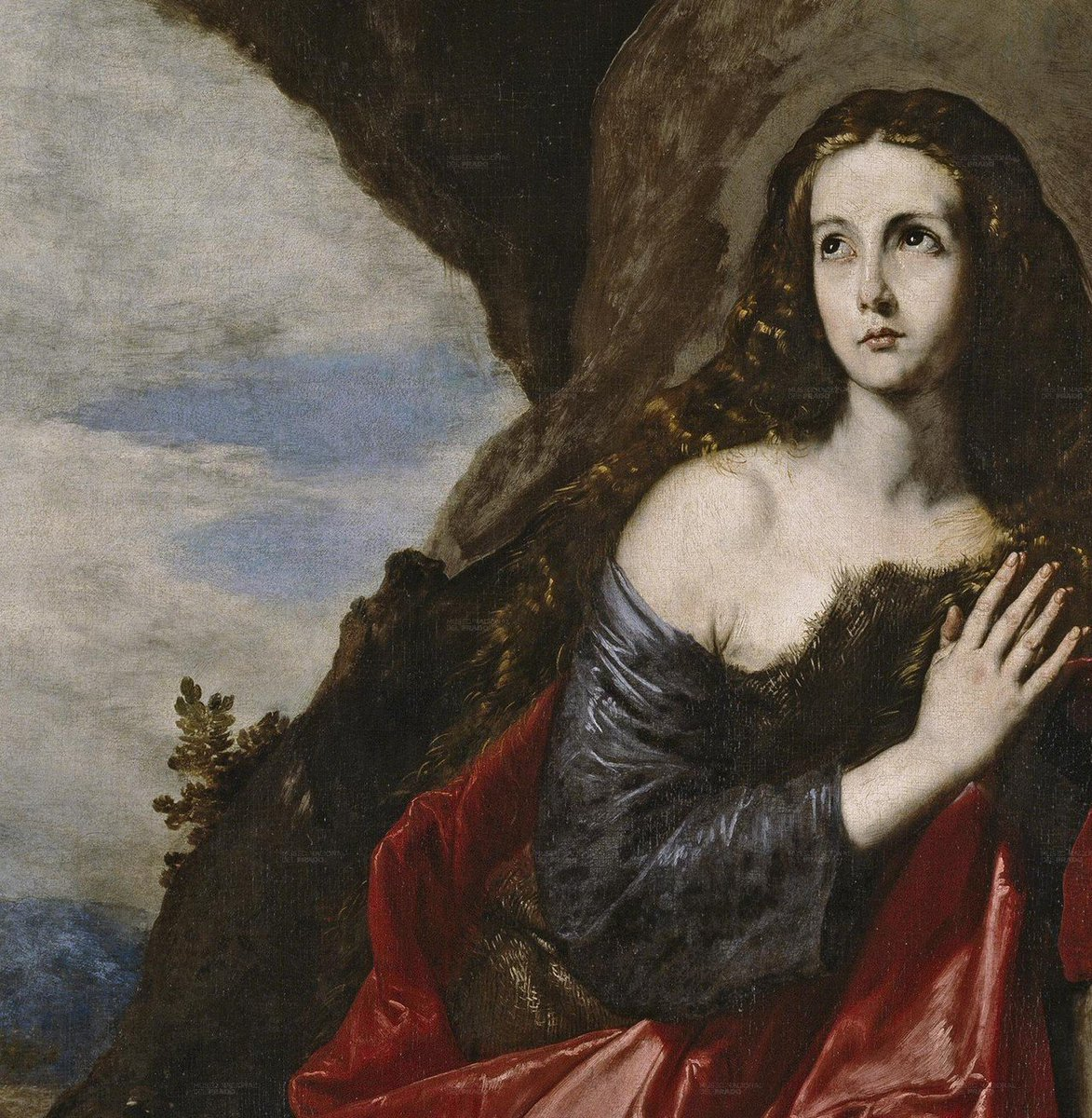 1. Art afternoon  Detail from: &quot;The Magdalene or St. Thais&quot;. Artist: José de Ribera. Style: Baroque. Museum: @museodelprado Country: Spain  Year: 1641. #Special80s #JoseDeRibera #MuseoDelPrado #Madrid #Spain #Art #Baroque #FelizSábado #15D #15Decembre #15Diciembre #FelizFinde <br>http://pic.twitter.com/aDuPgOvcO0