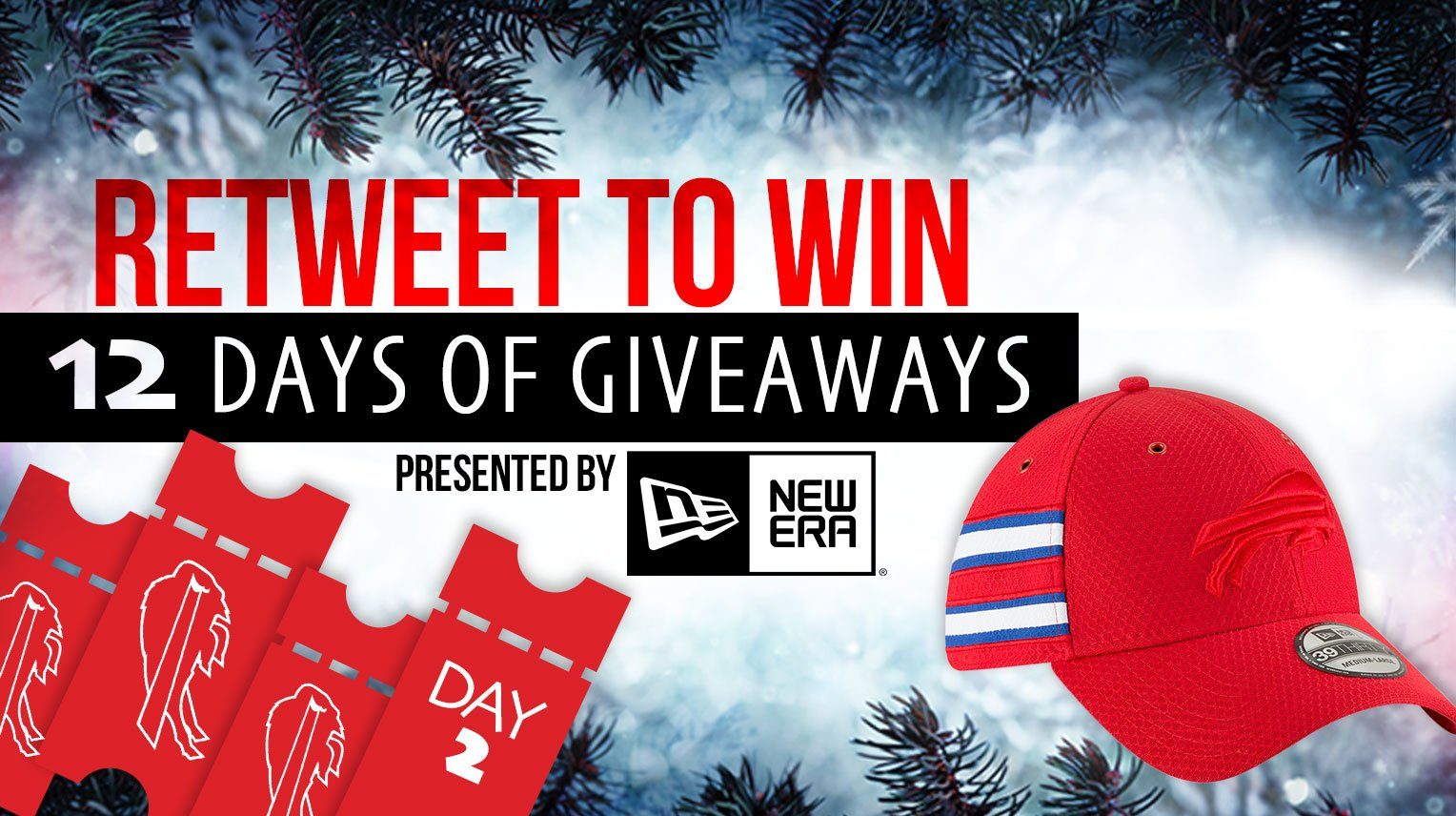 One @NewEraCap and four Bills tickets? RT to enter!  Rules: https://t.co/xrWvP0Yq1t https://t.co/c5BtuSK10W