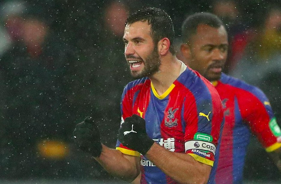 Luka Milivojevic scores superb goal to see Crystal Palace pick up first Premier League win without Wilfried Zaha in the starting lineup since 2016 https://t.co/xAW8vpf4Jb