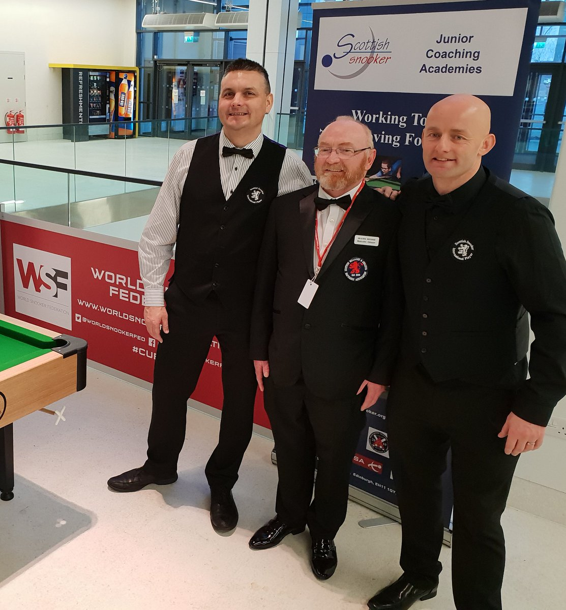 An absolutely fantastic day for Scottish Amateur Snooker yesterday at World Snookers Bet Victor Scottish Open. A big thank you to World Snooker & WPBSA for facilitating this marvellous opportunity to play 2 of our National Finals, refereed by our very own Scottish Referees!!