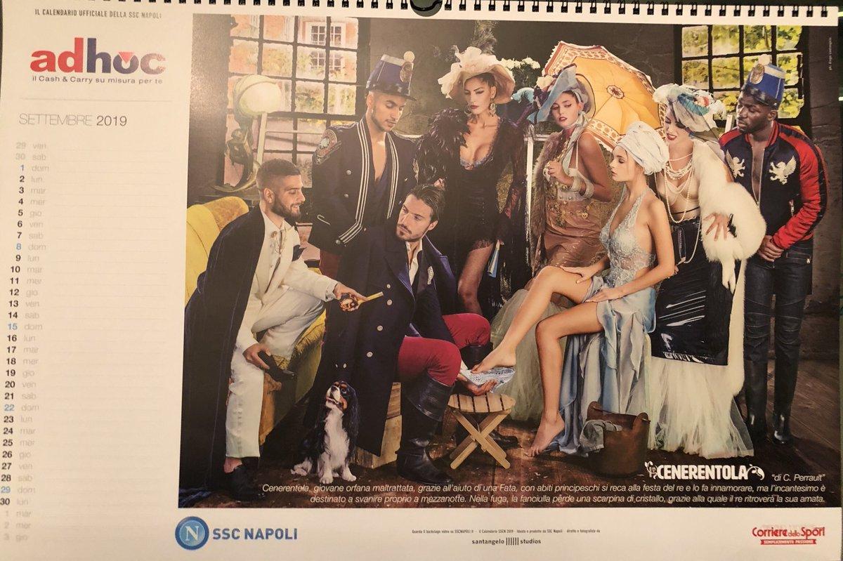 Calendario Del Napoli.Foto Zoom Napoli Calendario 2019 Ecco Le Immagini In