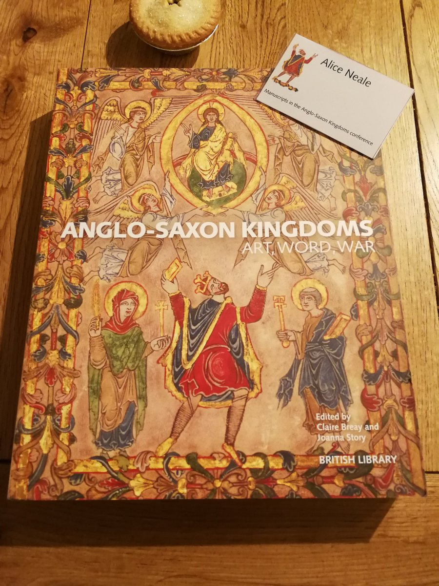 Hwaet! Go see the very special Anglo-Saxon Kingdoms exhibition @britishlibrary. Great papers over the last few days that complimented and enhanced it perfectly. #MSSinASK #BLAngloSaxons @BLMedieval