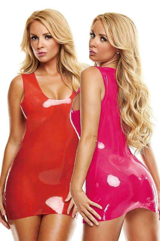 Dieses schwarz, rot und pinkfarbene Latex-Minikleid wird Ihren Körper in  aufregend enges Latex verpacken.  latexminikleid  latexkleid  latex   sexykleid ... 160d972c6a