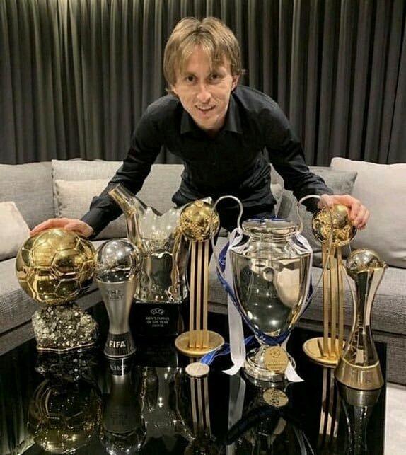 Luka Modric, what a year! 🏆 #HalaMadrid