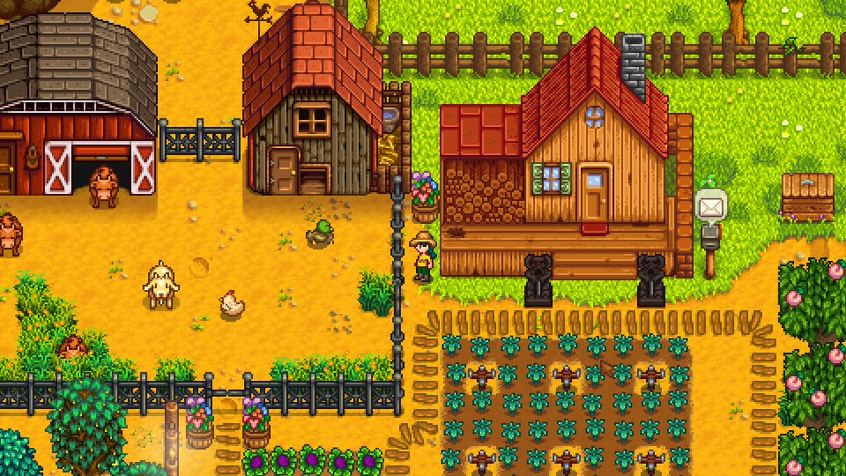 Stardew Valley creator back-burners other project to focus on new content https://t.co/i1i2GwPB7w