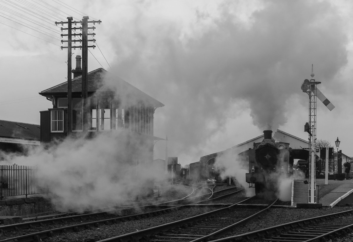 test Twitter Media - RT @SirHectorMunro: #SantaSteamTrains at @bonessrailway this morning.  @srpssteam https://t.co/5eM9CawgJ9