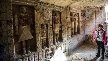 Egypt unveils 'one of a kind,' 4,400-year-old tomb https://t.co/GzyE7opFUJ