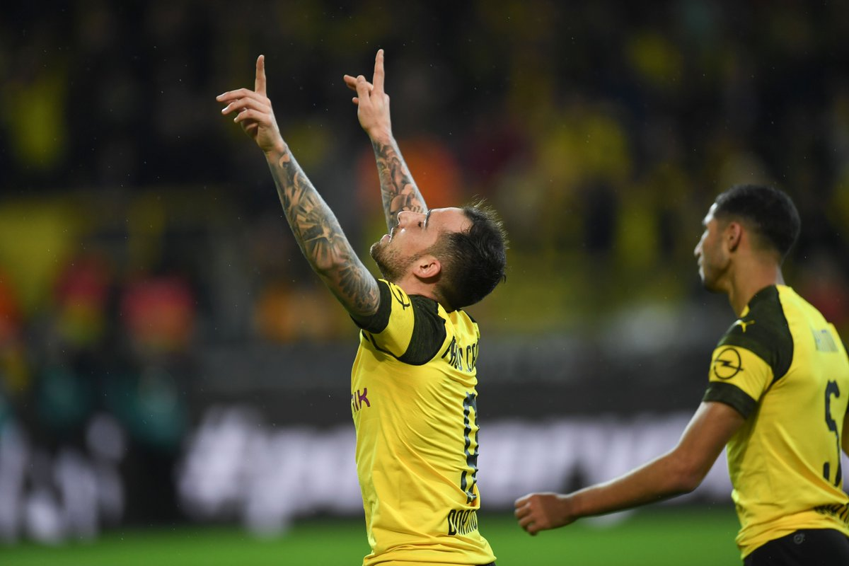 Paco Alcácer has scored in every single home game that he's appeared in for Borussia Dortmund this season:  👤 6 games ⚽️ 8 goals  There's just no stopping him. 🔥