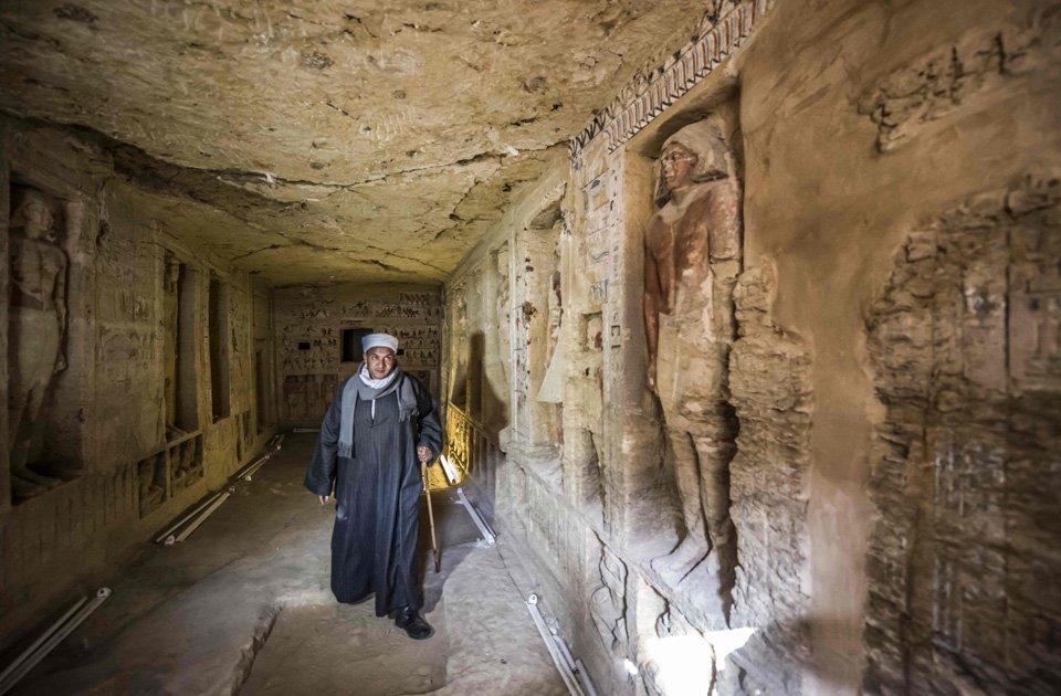 #Egipto anuncia el hallazgo de una tumba 'única' de 4.400 años de antigüedad https://t.co/AOMtyWw9cZ