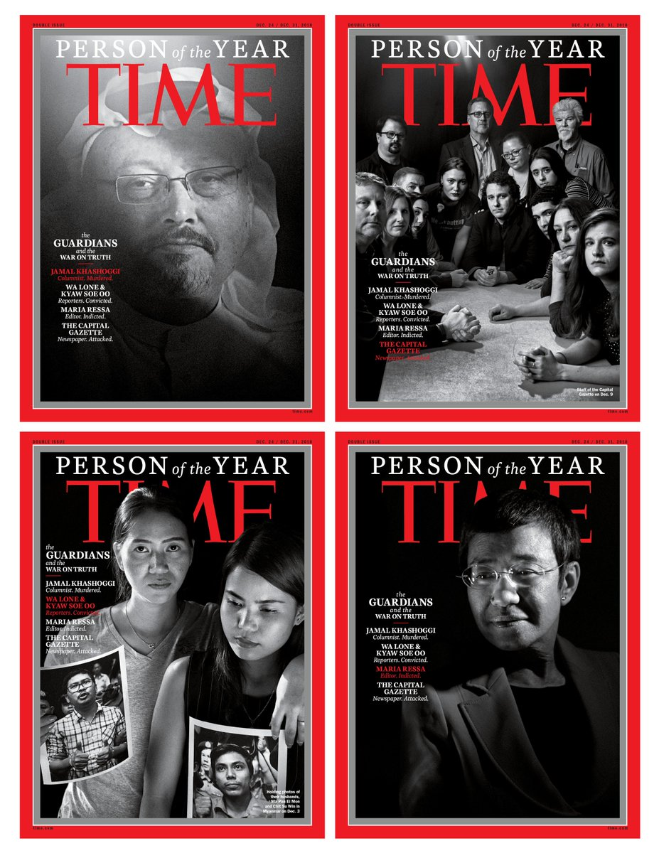 Why TIME chose the Guardians as Person of the Year 2018 #TIMEPOY https://t.co/PQR2ida7OP
