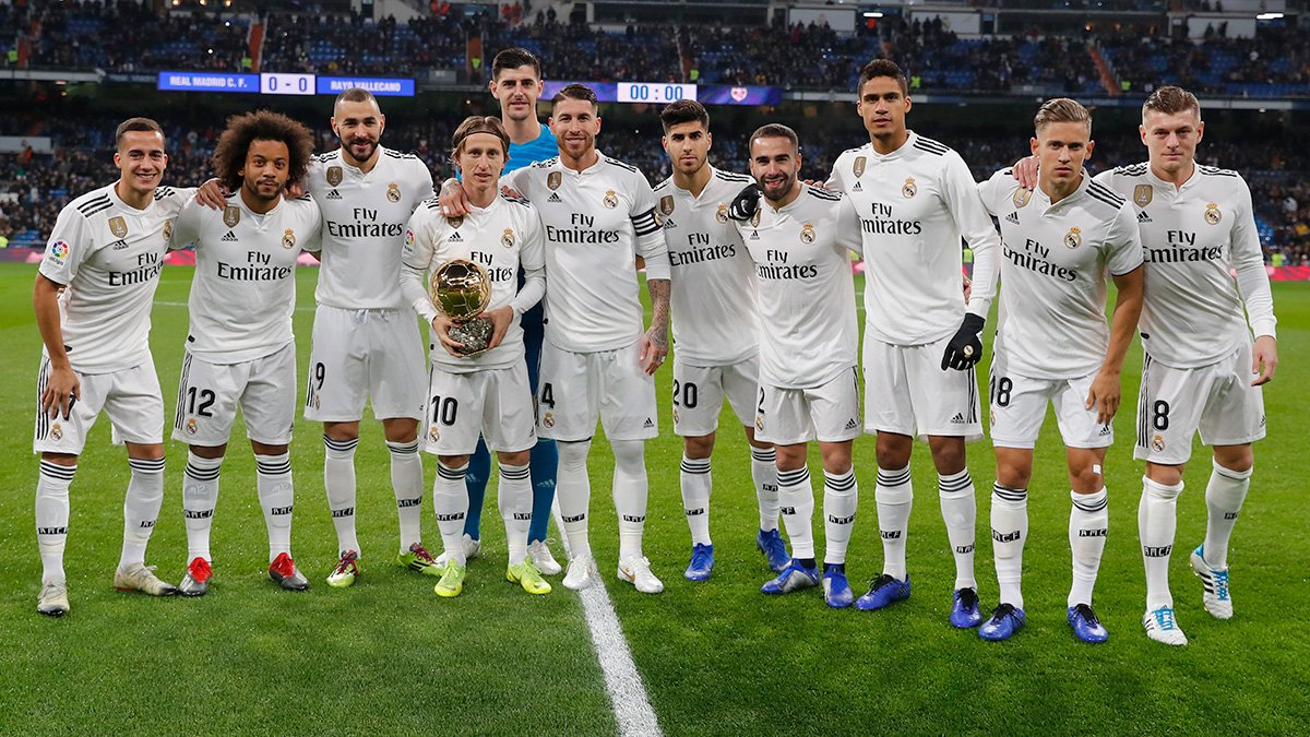 😍 What a photo! 🏆 🙌 #HalaMadrid 🙌