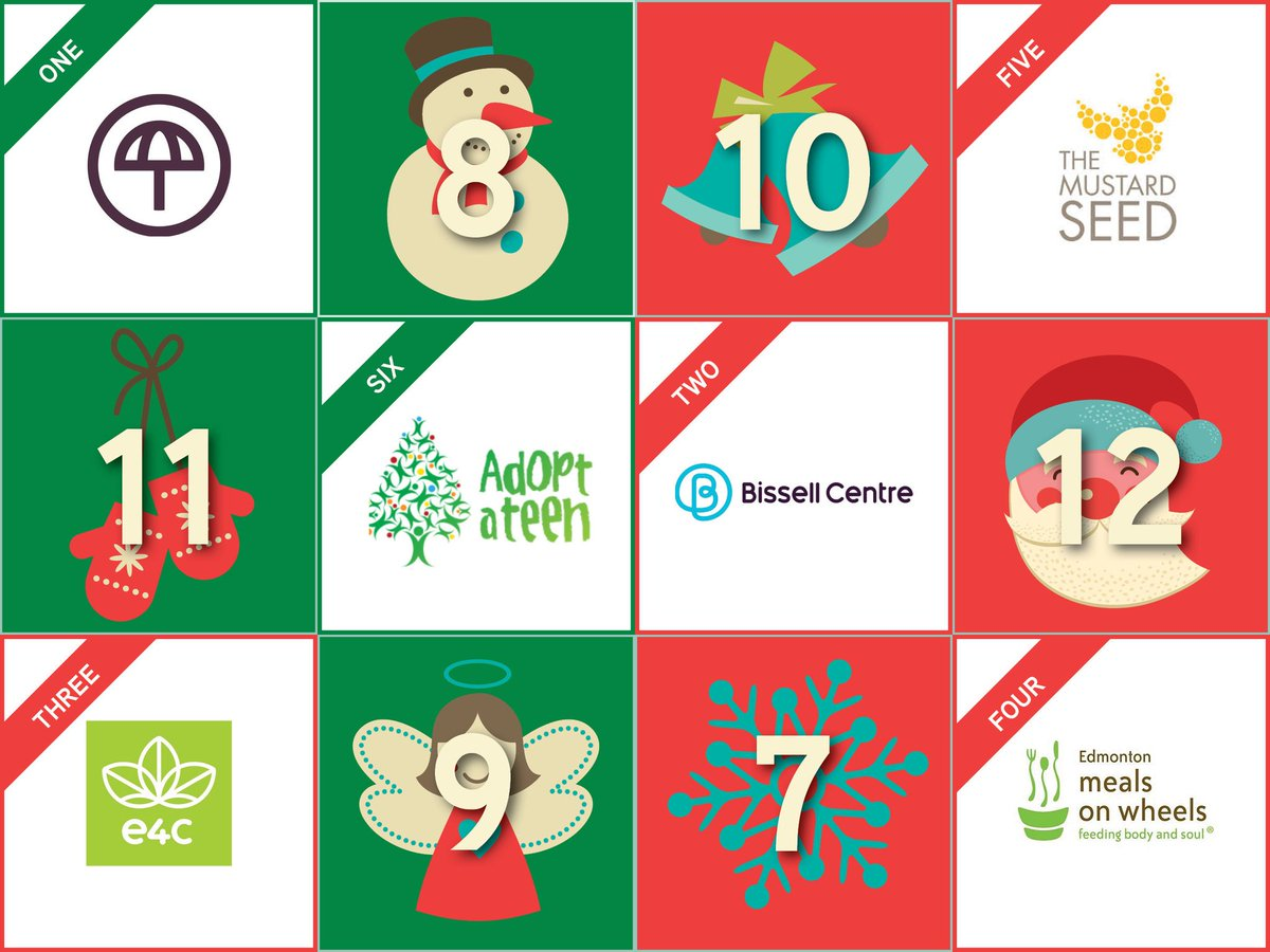 On the 6th day of Christmas 2018 @colliersYEG gave six gift cards to @AdoptATeen #tistheseason #SpreadLove #GivingBack @collierscanada
