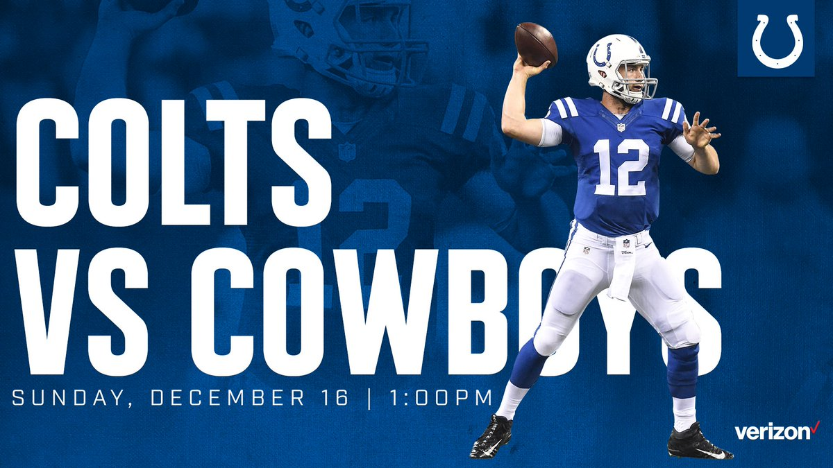 RT @Colts: Tomorrow. #DALvsIND   ➡️ https://t.co/tydiyd1Tq2 https://t.co/WA1SWzTzPq