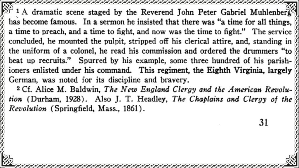 The AMERICAN REVOLUTION 🇺🇸 LEGACY of our FREEDOM Reverend Muhlenberg was also known as COL Muhlenberg, his sermon still echos today. ..a time to preach, a time to fight, now is a time to fight! Today, is the TIME TO FIGHT #TakeBackAmerica #RevolutionAmerica Please read on👇