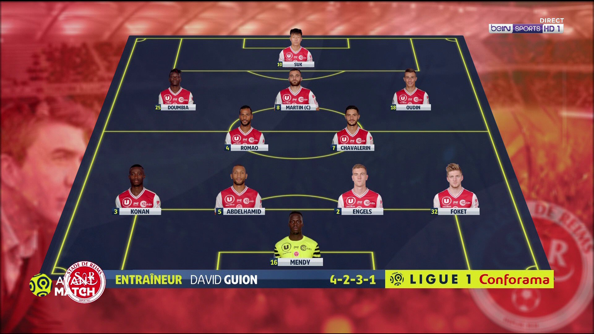 Bein Sports On Twitter Live At Ligue1conforama At Stadedereims