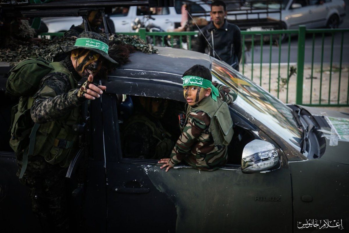 #Hamas is celebrating 31 years. All of their failures in one image. Generation after generation of child abuse, terrorism, and poor choices for the Palestinian people. Sad.