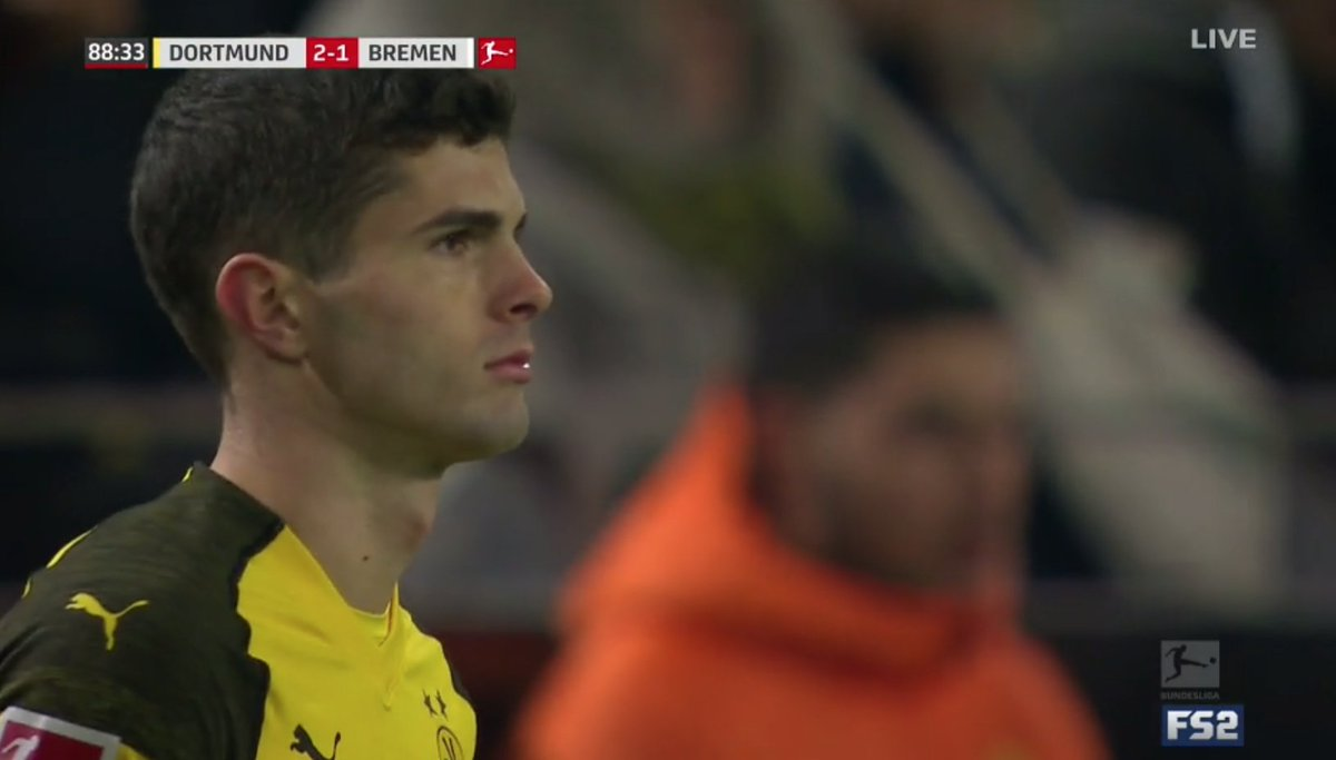Here. We. Go.  Pulisic and Sargent on the field!