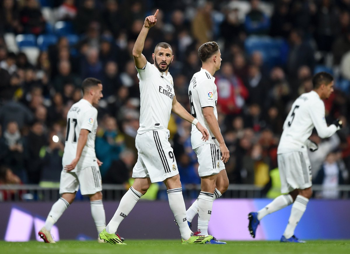 Real Madrid on the march but hit 25
