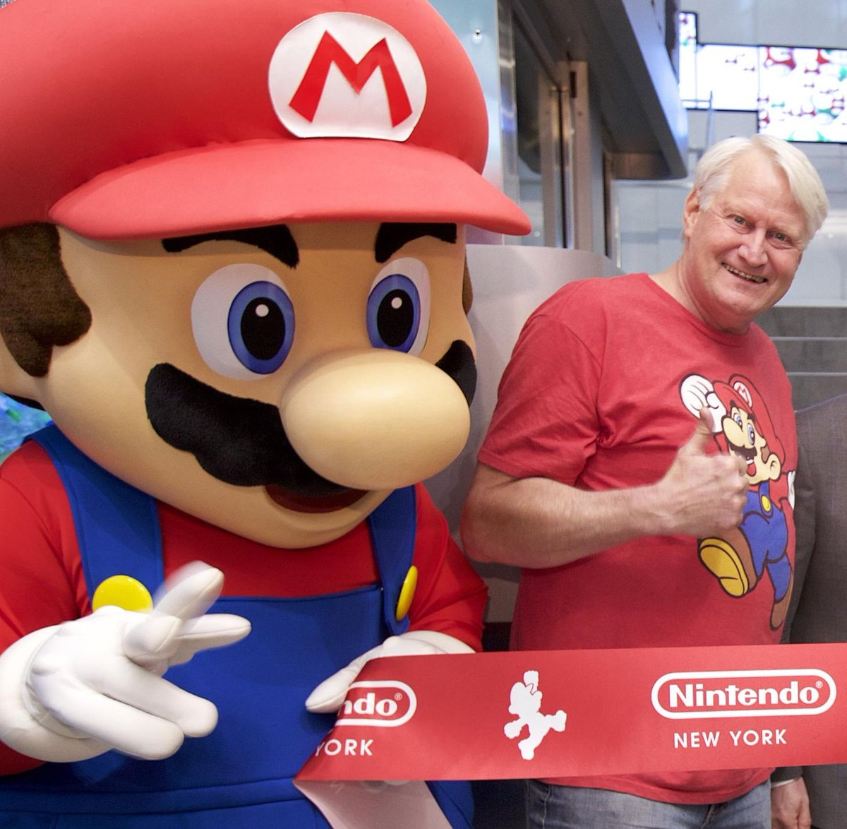 Super Smash Bros. Ultimate is Charles Martinet's 100th credit as Mario https://t.co/CkzlD7YyLX