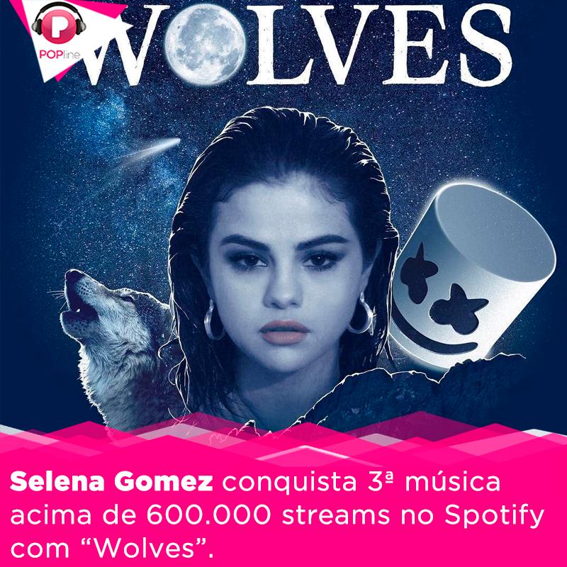 > @selenagomez continua sendo uma das cantoras mais fortes do Spotify e conquista mais uma grande marca! Confira: goo.gl/qN9nbm