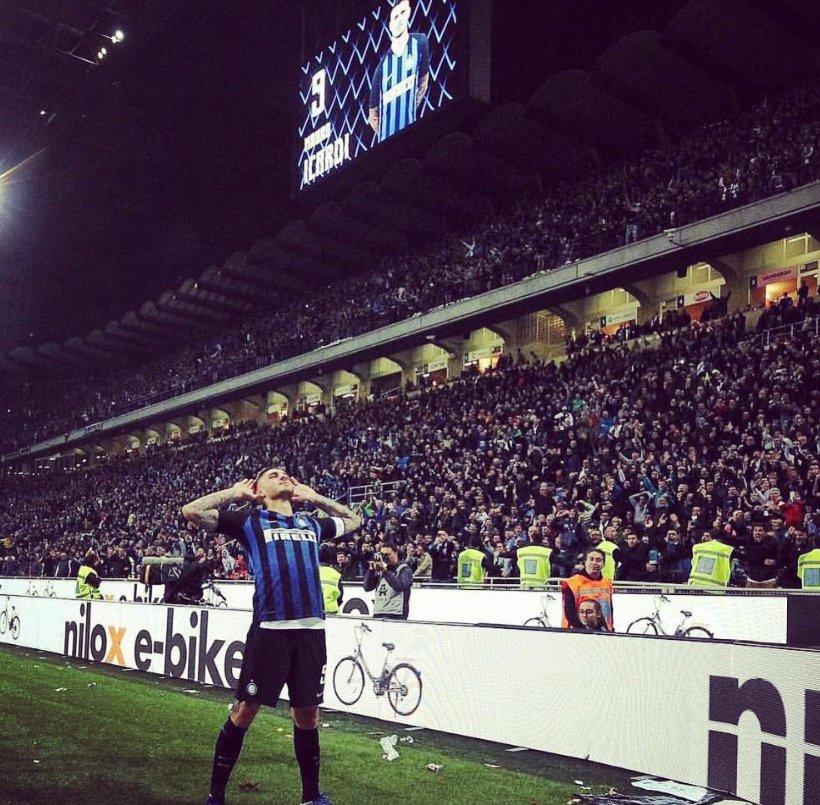 El delantero de los 120 goles en 201 partidos con el Internazionale. Un auténtico cañonero. ICARDI.