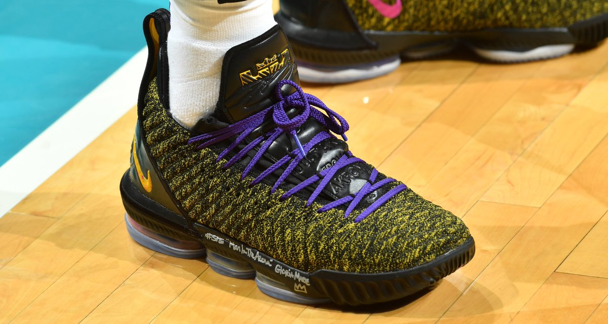 #SoleWatch: @kingjames in Nike LeBron 16s at the Hive. 📸: Jesse D. Garrabrant