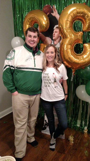 Happy 33rd Birthday to Sean Klonne The real Larry bird!