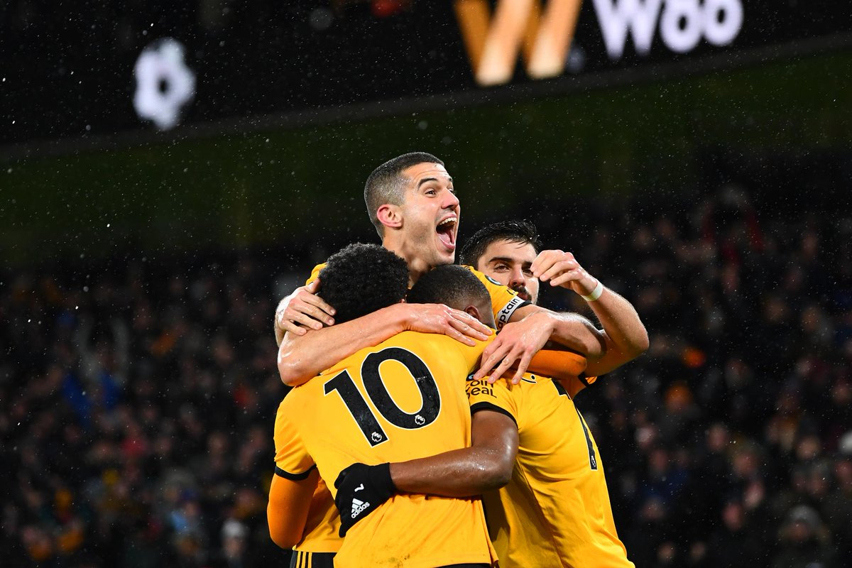 W W W  Wolves have won 3 consecutive #PL matches for the first time