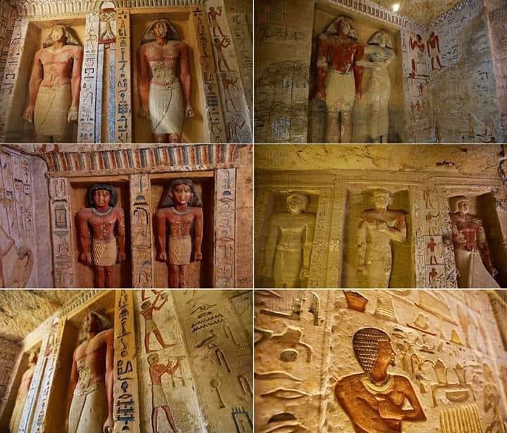 Archaeologists Discover Unspoiled Egyptian Tomb, Sealed For 4,400 Years - image DufJd3wWkAE-Tuo on https://alldesingideas.com