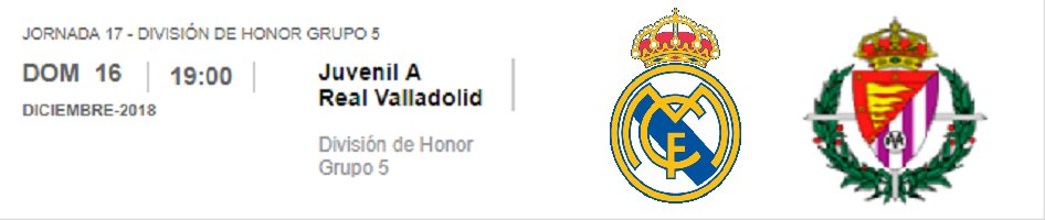 Previa   Real Madrid Juvenil A – Valladolid http://eternocampeon.net/previa-real-madrid-juvenil-a-valladolid-2… Por: @lore13PG #DivisióndeHonor #LaFábrica #HalaMadrid