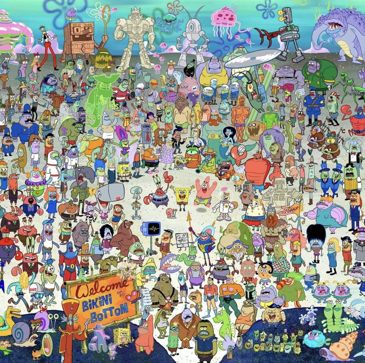 Once you actually zoom in, memories start to flood in. What a trip