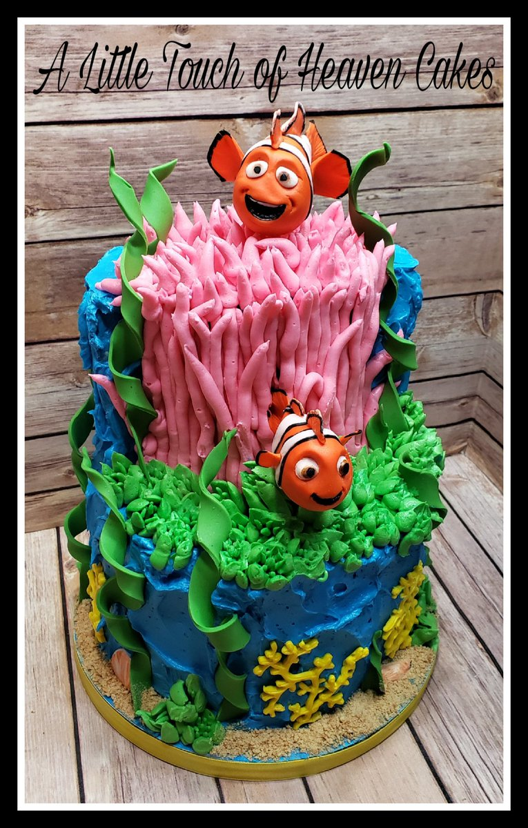 Brilliant Alttltchofhvncakes On Twitter Nemo Birthday Cake Personalised Birthday Cards Cominlily Jamesorg