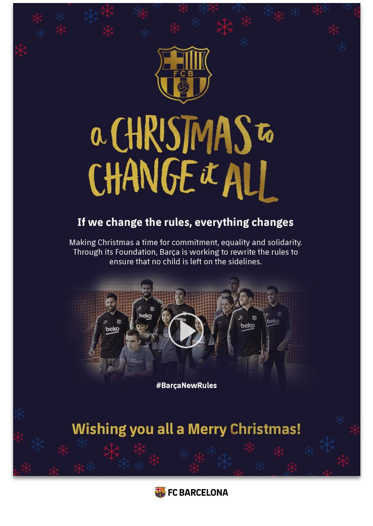 Barça Academy Charlotte On Twitter A Christmas To Change It