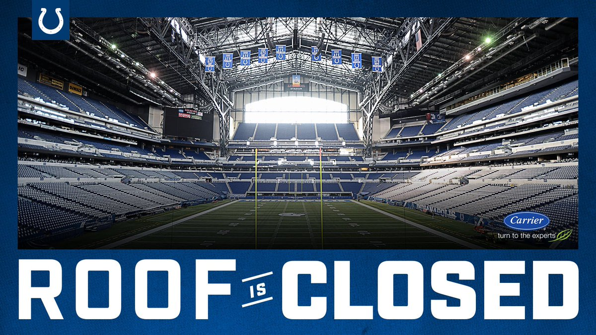 RT @JimIrsay: Roof closed tomorrow. https://t.co/OlnBLd4HTh