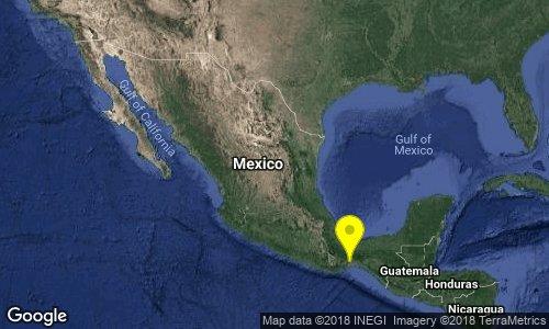 test Twitter Media - SISMO Magnitud 4.1 Loc  8 km al SUROESTE de CD IXTEPEC, OAX 15/12/18 16:00:42 Lat 16.51 Lon -95.15 Pf 72 km https://t.co/42rSiqVQOm
