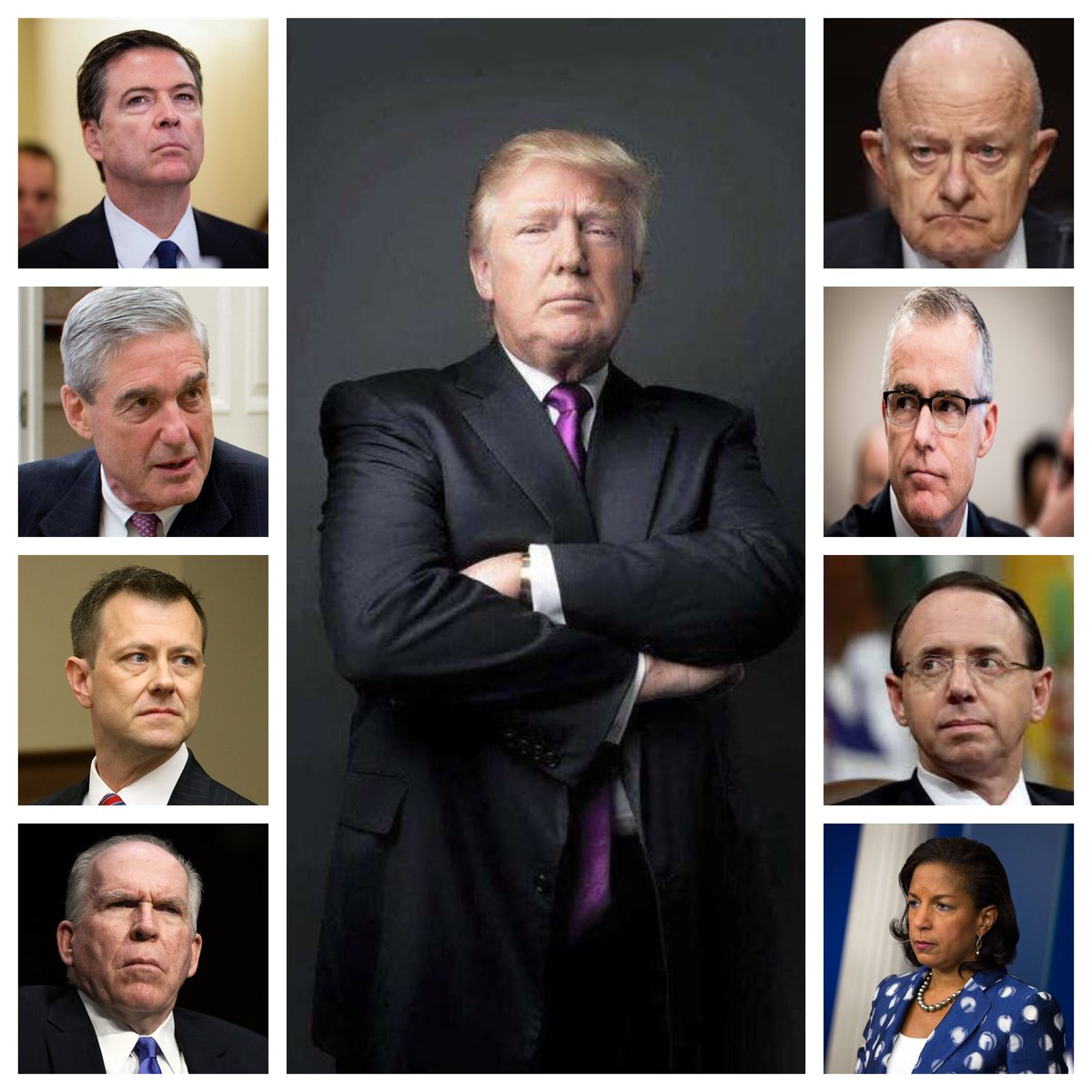 In any other country these 8 saboteurs interfering with free elections & committing crimes to undermine an elected President & his government, would have been tried & most likely executed by now. So why, here in America have their deeds been ignored and they continue to plot⁉️