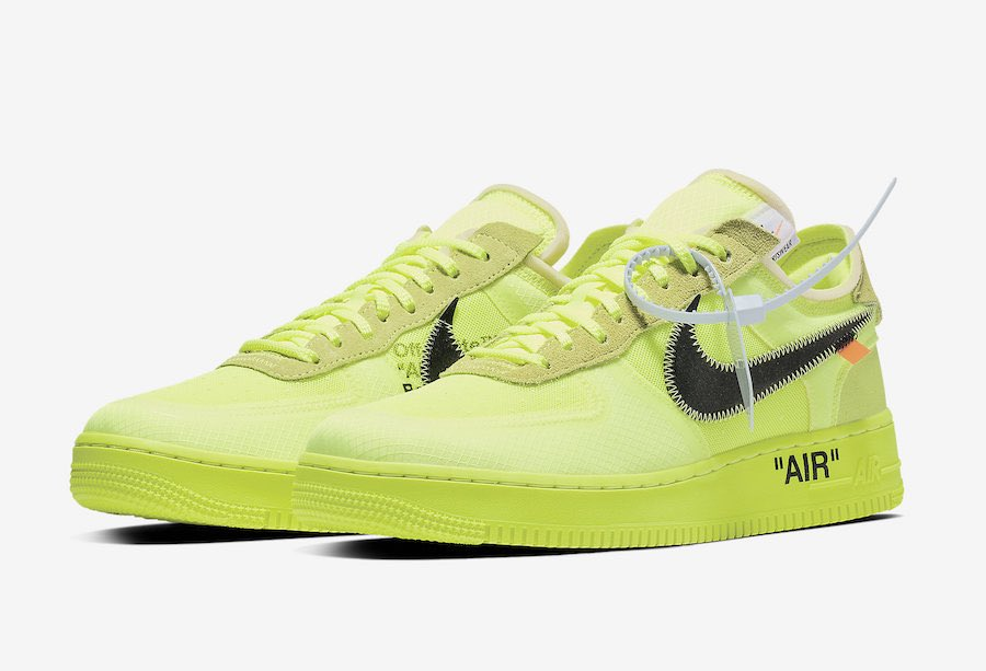 Modern Notoriety On Twitter Off White X Nike Air Force 1 Low